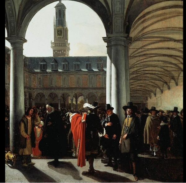 amsterdam-stock-market-of-the-1600s